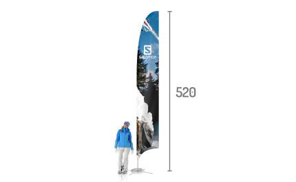 Feather beach flag XL   visionexposystems.com