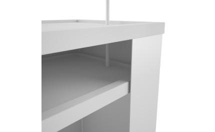 Masa sampling Promoter Desk Premium | visionexposystems.com