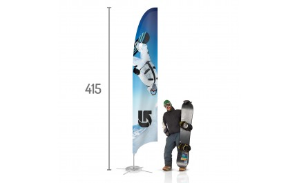 Feather Beach Flag L | visionexposystems.com