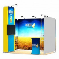 2x3-1A Food Products Exhibition stand
