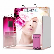 2x3-1C Cosmetic Products Exhibition stand