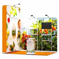 2x3-2D Essential Oils Exhibition stand