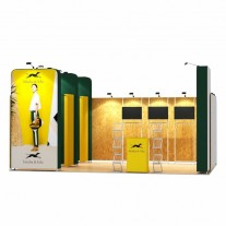 4x6-1A Clothing Products Exhibition stand