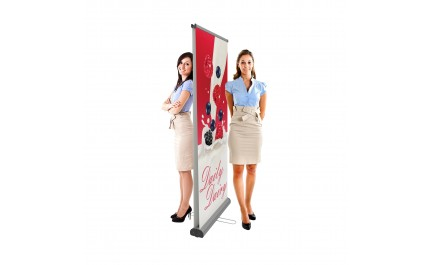 Roll-up banner Double 085 | visionexposystems.com