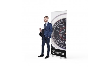 Roll-up banner Premium 085 | visionexposystems.com