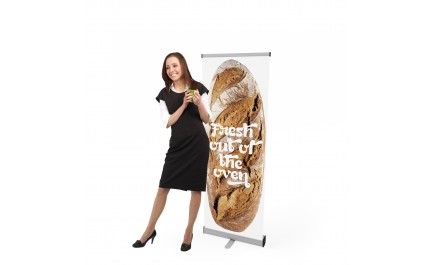 Roll-up banner VISION 060 | visionexposystems.com