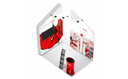 2x3-2B Perfumes Exhibition stand