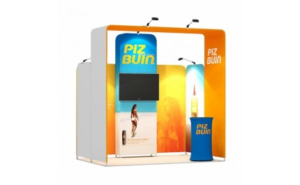 2x3-1B Suncare Products Exhibition stand