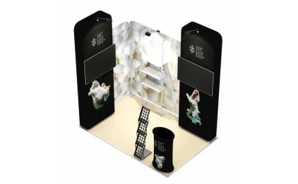 2x3-2E Textile Fabrics Exhibition stand