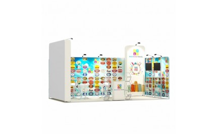 3x6-1A Travel Agency Exhibition stand
