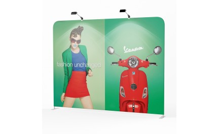 Vision wave easy fabric display wall | visionexposystems.com