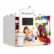 3x3-1A Playground Exhibition stand