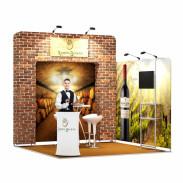 3x3-2D Wine Estate Exhibition stand