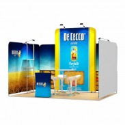 3x4-1B Food Products Exhibition stand