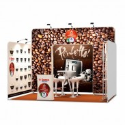 3x4-1A Coffee Machines Exhibition stand