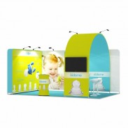 3x5-2C Baby Feeders Exhibition stand