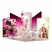 3x5-2E Cosmetic Products Exhibition stand