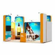3x5-1B Suncare Products Exhibition stand