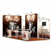 3x7-2E Coffee Machines Exhibition stand