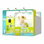 4x4-1C Baby Feeder Exhibition stand