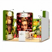 4x4-1B Food Products Exhibition stand