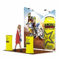 2x3-3B Energy Drinks Exhibition stand