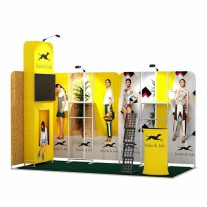 2x4-2D Clothing Products Exhibition stand