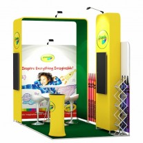 2x4-2E Office Supplies Exhibition stand