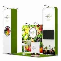 2x4-3B Food Products Exhibition stand
