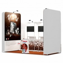 2x4-1C Coffee Machines Exhibition stand