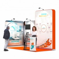 2x4-2A Medical Equipment Exhibition stand