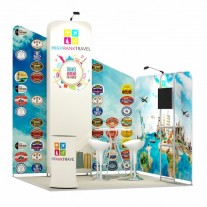 3x3-2E Travel Agency Exhibition stand