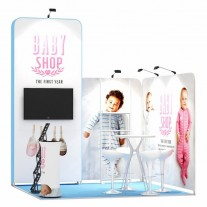 3x3-2A Baby Clothing Exhibition stand