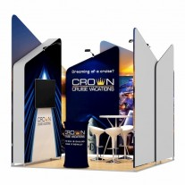 3x3-1C Cruise Ship Exhibition stand