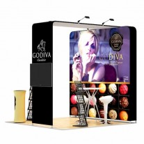3x3-3B Chocolate Shop Exhibition stand