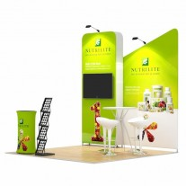 3x3-3C Food Supplements Exhibition stand