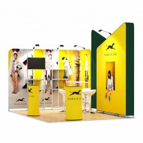 3x4-2D Clothing Products Exhibition stand