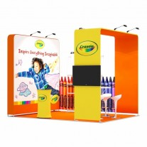 3x4-2A Office Supplies Exhibition stand