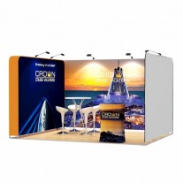 3x4-1C Cruise Ship Exhibition stand