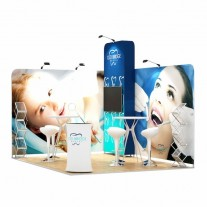 3x4-2B Dental Office Exhibition stand