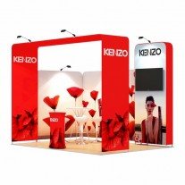 3x4-2C Perfumes Exhibition stand