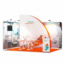 3x4-2E Medical Equipment Exhibition stand