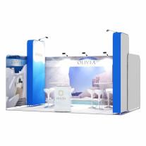 3x5-1A Travel Destination Exhibition stand