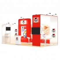 3x6-2A Pharmaceutical Products Exhibition stand