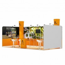 3x6-1C Olive Oil Exhibition stand