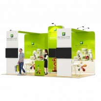 3x6-3A Food Suppliments Exhibition stand