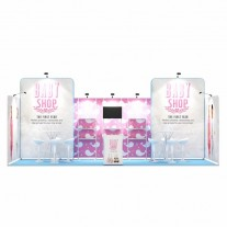 3x7-1B Baby Clothing Exhibition stand