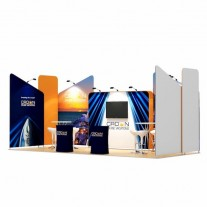 3x7-1A Cruise Ship Exhibition stand