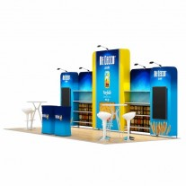 3x7-3B Food Products Exhibition stand