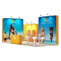 3x7-2A Suncare Products Exhibition stand
